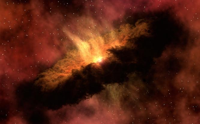 6904509-cosmic-explosion