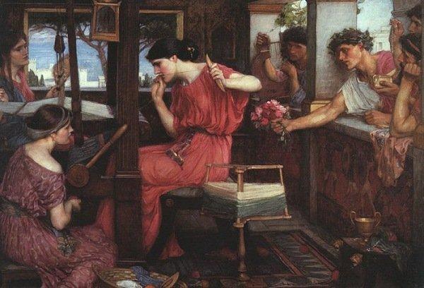 penelope-and-her-suitors-john-william-waterhouse